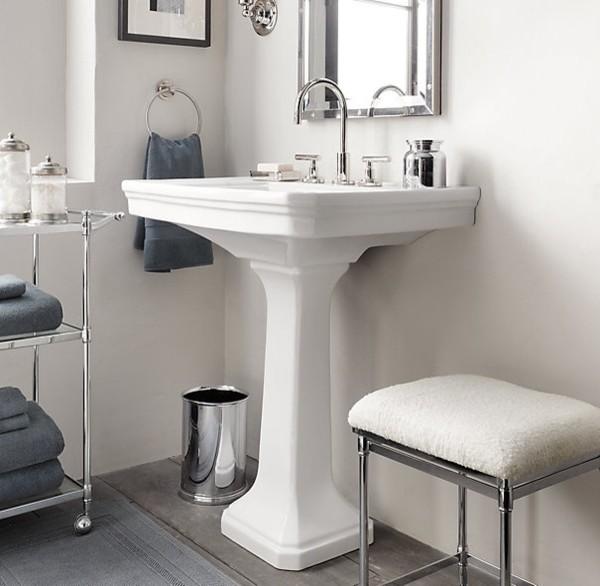 Chiuveta cu picior - Cum alegem chiuveta potrivita pentru baie?