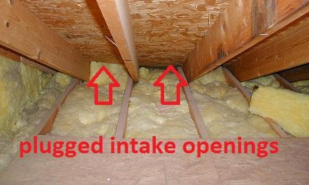 Admisie de aer obturată - Cele mai frecvente greşeli făcute de montatori de acoperişuri - partea