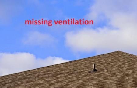 Lipsa ventilării - Cele mai frecvente greşeli făcute de montatori de acoperişuri - partea a 3-a