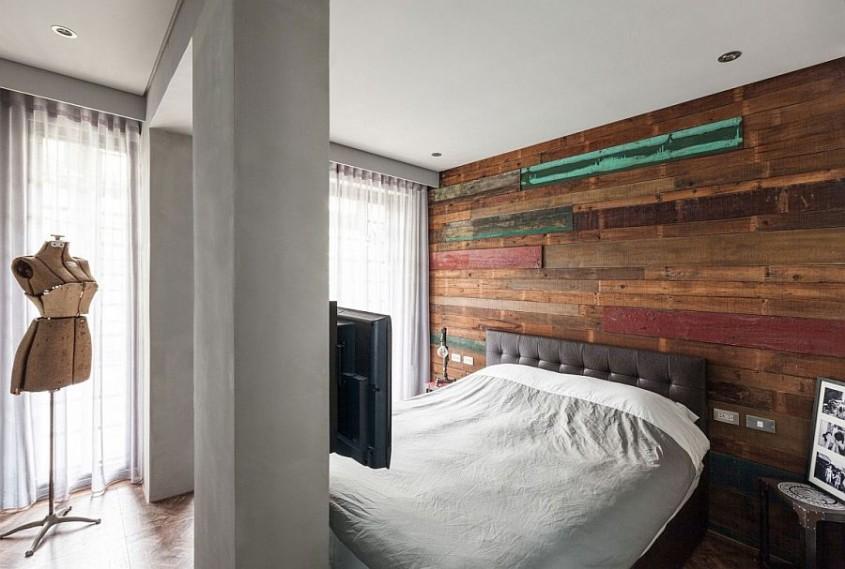 Scanduri decorative - Pereti placati cu lemn: cand mai putin inseamna mai mult