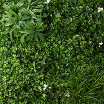 Greewall white - Green wall artificial