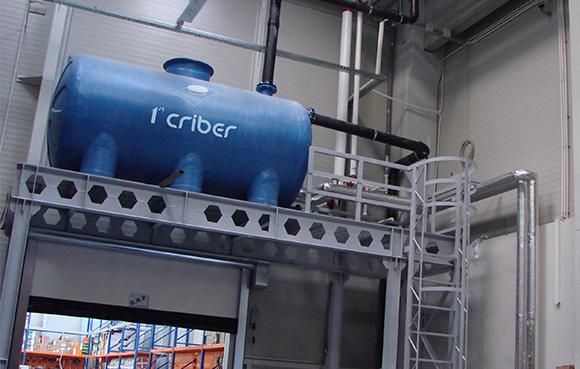 Rezervor colectare apa ploaie - Rezervoarele din fibra - o solutie optima