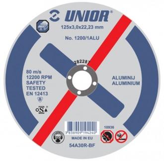 Discuri pentru aluminiu 1200/1ALU - Accesorii polizoare de banc si unghiulare Unior