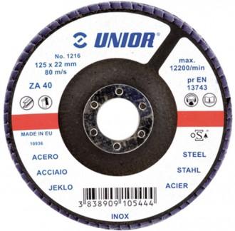 Disc plat 1216 - Accesorii polizoare de banc si unghiulare Unior