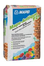 Liant hidraulic filerizat, superfluid, pentru consolidari in zone dificile - Mape-Antique F21 - Mortare de zidarie