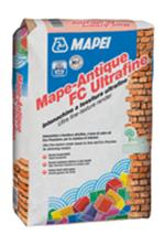 Tencuiala ultrafina, permeabila, pentru finisarea zidariilor umede - Mape-Antique FC Ultrafine - Mortare de zidarie