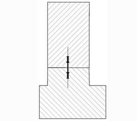 Profile etansare cu placi de otel  pentru rosturi de turnare interne - Profile etansare - rosturi de turnare interne
