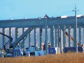 Centru logistic Mobexpert Bucuresti - Structuri hale prefabricate din beton