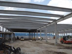 Dedeman Deva - Structuri hale prefabricate din beton
