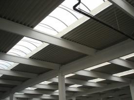 European Retail Park Targu Mures (Baumax Auchan Media Galaxy Shopping Mall Mobilia) - Structuri hale prefabricate