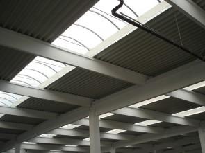 European Retail Park Targu Mures (Baumax, Auchan, Media Galaxy, Shopping Mall, Mobilia) - Structuri hale prefabricate din beton