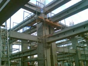 Showroom&Service Autocobalcescu Bucuresti - Structuri hale prefabricate din beton