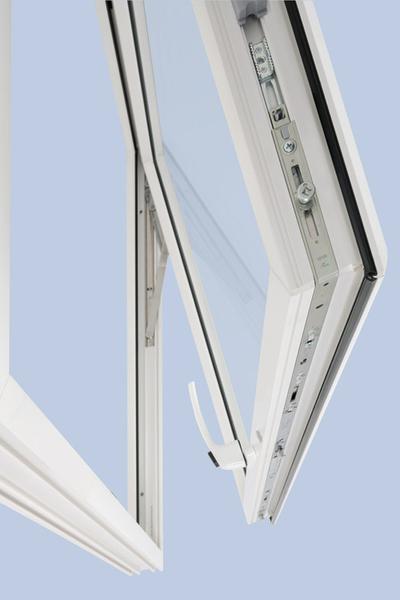 Fereasta Top-Hung cu coltar - Sistem de inchidere compatibil cu Roto NT pentru ferestre cu deschidere