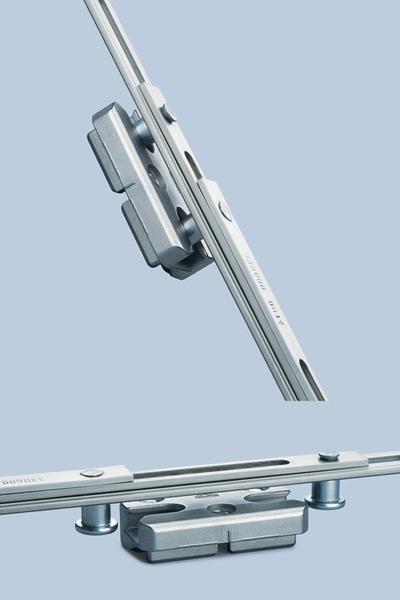 Inchidere mediana suplimentara cu functia Twin-Cam - Sistem de inchidere compatibil cu Roto NT pentru ferestre