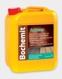 Agent de curatare pentru lemn innegrit BOCHEMIT ACTIVSAN -  5kg - Tratamente pentru lemn