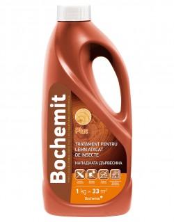 Tratament pentru lemn atacat de insecte BOCHEMIT PLUS - 1 kg - Tratamente pentru lemn
