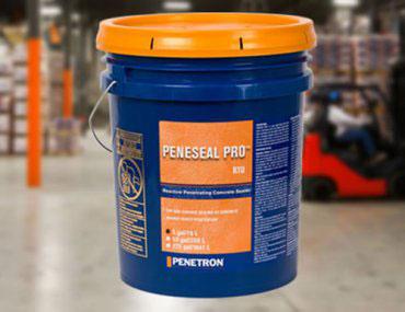 Peneseal PRO - Tratament hidroizolant autoreparator pentru suprafete expuse din beton - Hidroizolare si tratamente de suprafata pentru intarirea betonului cu acțiune chimica interioara permanenta
