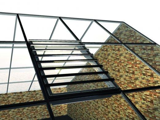 Luxlame - sistem cu lamele pentru acoperis furnizat de Hexadome Construct - Luxlame - sistem cu