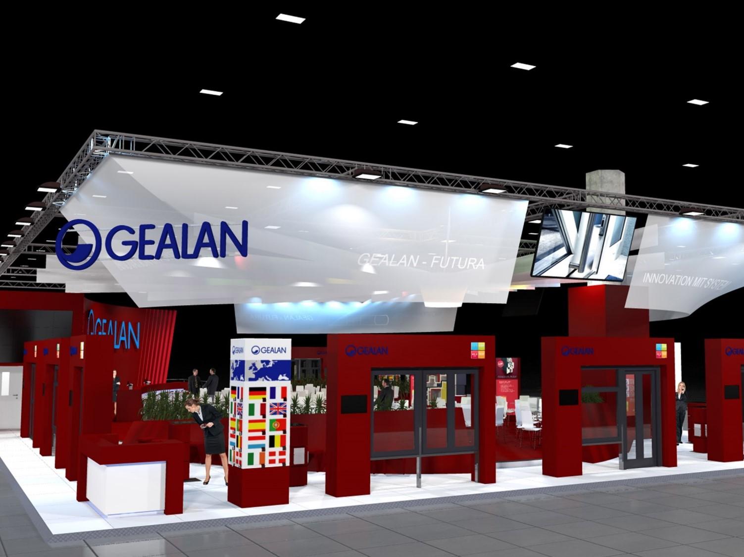 Noul sistem complet din sticla GEALAN-KUBUS® prezentat la targul FENSTERBAU FRONTALE 2016 - Noul sistem complet