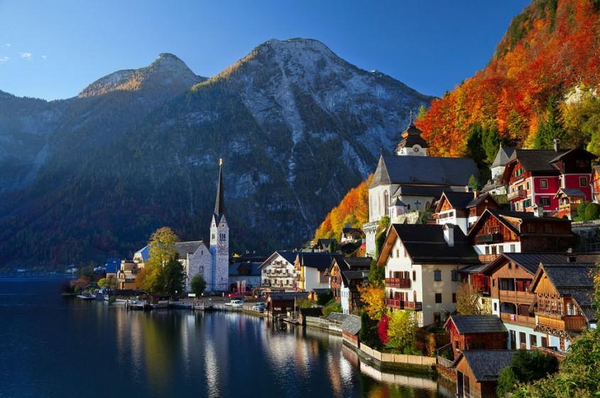 Hallstatt - 10 orase medievale din Europa ce par desprinse din basme