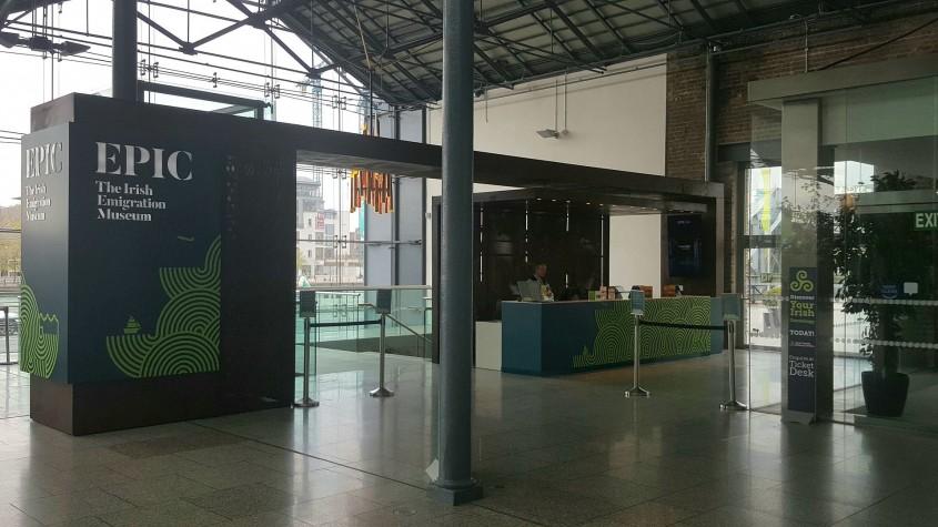 Muzeul Emigrației Irlandeze EPIC un spectacol vizual și interactiv care nu trebuie ratat - Muzeul Emigrației