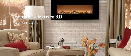 Seminee electrice 3 D - MOL