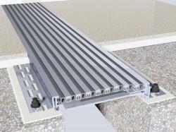 Profil de dilatatie seismic (aluminiu) Hidroplasto 830 - Profile de dilatatie seismice