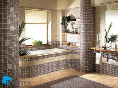 Exemplu de baie amenajata cu placi MARMOX - Amenajare bai cu placi MARMOX