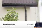 Sistem pluvial rectangular Novatik QUADRA - Galerie imagini