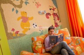 "Tapet lichid Silk Plaster folosit la decorarea camerelor pentru copii 1 - ""Silk Plaster"" folosit la decorarea camerelor pentru copii"