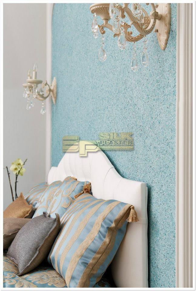 Tapetul lichid Silk Plaster pentru interioare de lux fara cheltuieli mari - Tapetul lichid Silk Plaster