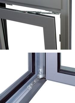 Feronerie oscilo-batanta UNI-JET complet ascunsa - Feronerie pentru ferestre si usi de balcon GU