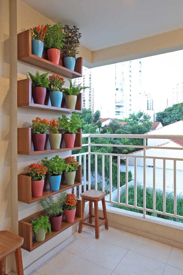 Balconul - spatiu de stocare sau camera? - Locul ideal pentru plantele de apartament
