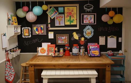 Locul dedicat creatiilor micilor artisti  - Locul dedicat creatiilor micilor artisti
