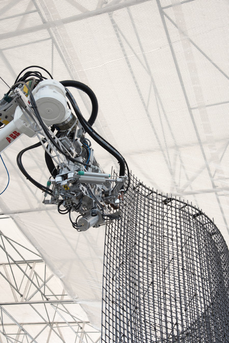 Casa DFAB - O casă futuristă, ce va fi construită de roboți