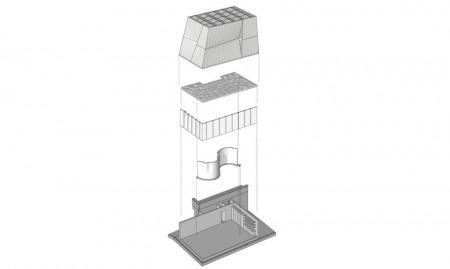 Casa DFAB - planuri - O casă futuristă, ce va fi construită de roboți