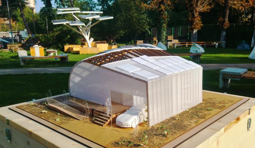 EFdeN Signature - macheta - EFdeN lansează noul concept de casă solară EFdeN Signature