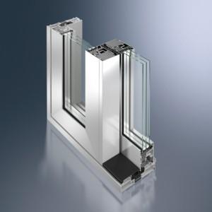 Profil glisant cu ridicare din aluminiu Schüco ASS 70.HI - Profil glisant cu ridicare din aluminiu Schüco ASS 70.HI