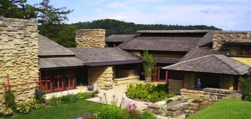Locuinta Taliesin - 150 de ani de la nașterea unui geniu: Frank Lloyd Wright