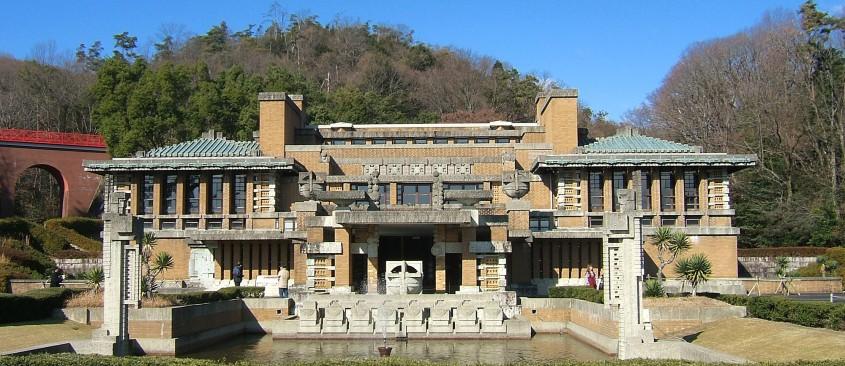Hotelul Imperial din Tokyo - 150 de ani de la nașterea unui geniu: Frank Lloyd Wright
