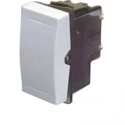 Intrerupator scara cruce alb - Aparataj electric esperia