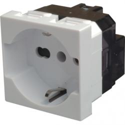 Priza schuko 2P+T, 16A, alb - Aparataj electric esperia