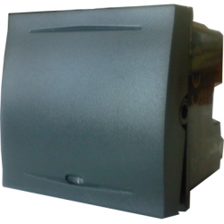 Intrerupator iluminat clapa 2 module, 16A, negru - Aparataj electric esperia