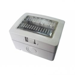Cutie de protectie intrerupatoare, IP55, gri - Aparataj electric esperia