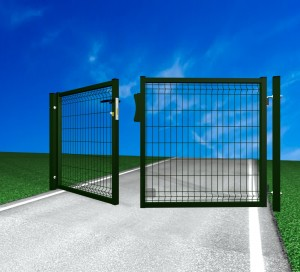 Poarta batanta auto Lario - Porti de acces batante