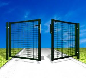 Poarta batanta auto Garden - Porti de acces batante