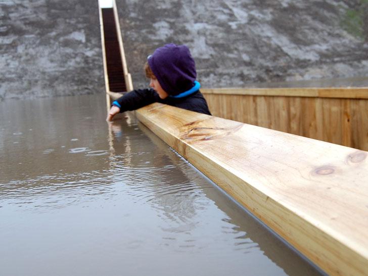 Podul Moise din Olanda - Un pod nu trebuie sa fie neaparat peste o apa
