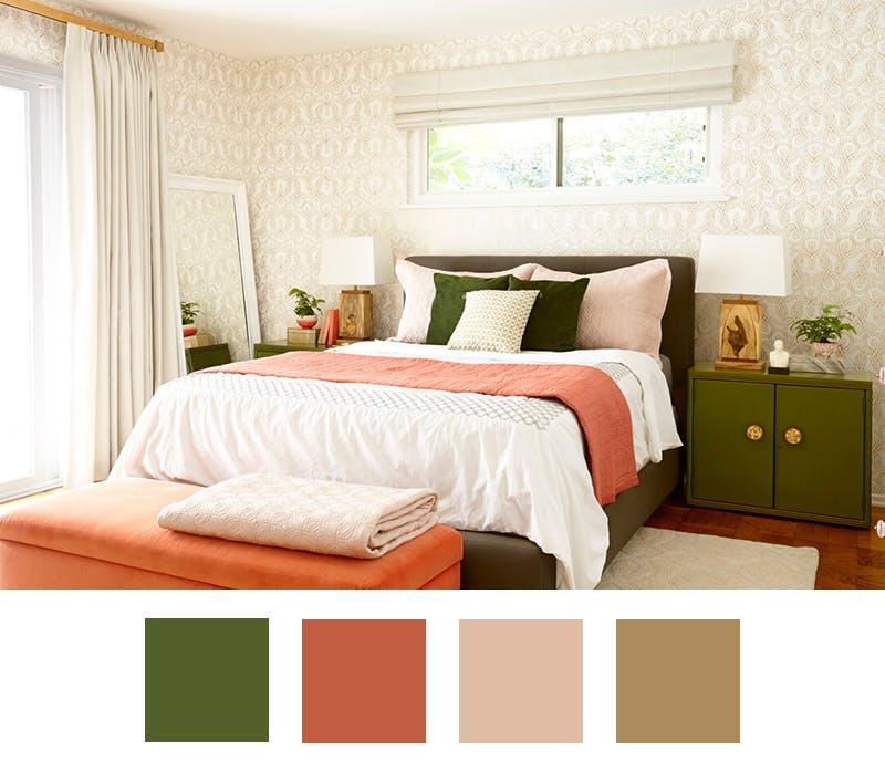 6 palete de culori pentru iubitorii de verde - 6 palete de culori pentru iubitorii de