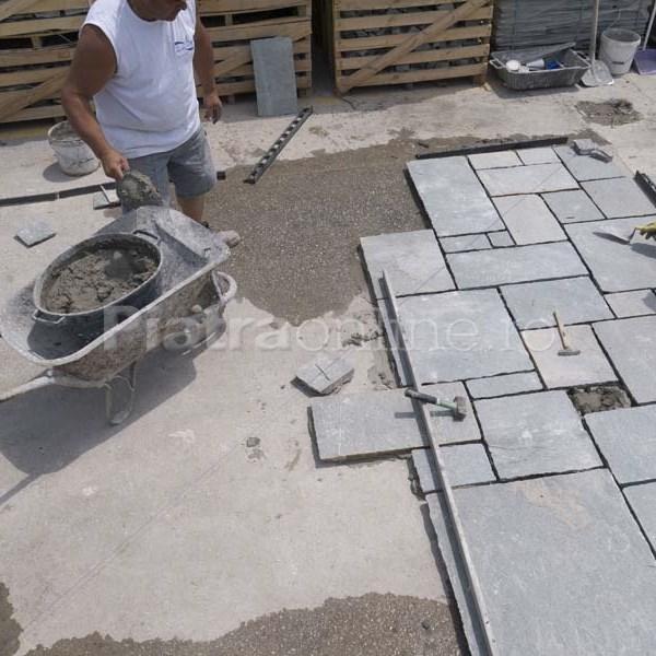 Montajul pietrei naturale pe terasa: 10 pasi - Montajul pietrei naturale pe terasa: 10 pasi