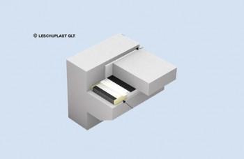 Suporti glisanti armati elastomerici Tip B1EG - Suporţi de amortizare a sunetului tip SD